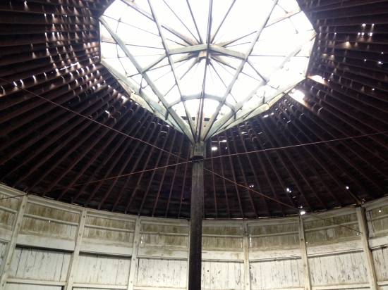 Another view of roof.