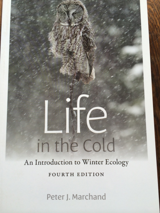 A revealing book on winter ecology.