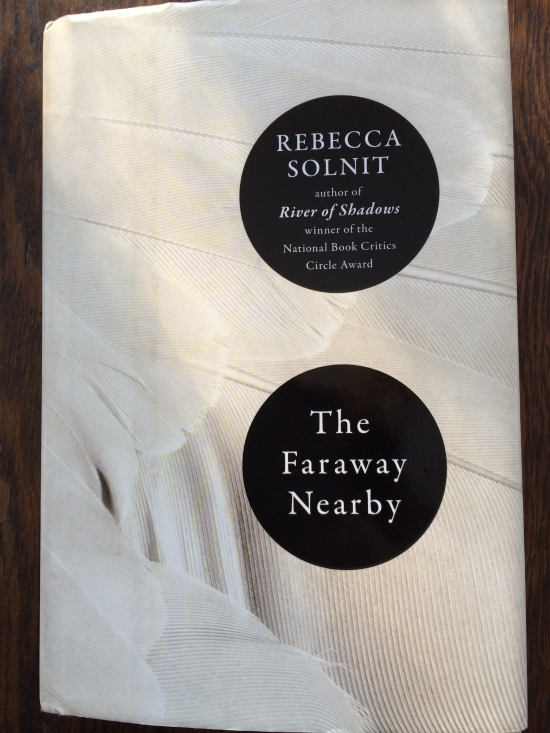 Cover of Rebecca Solnit's new book, which is part memoir, part essay, part many parts.