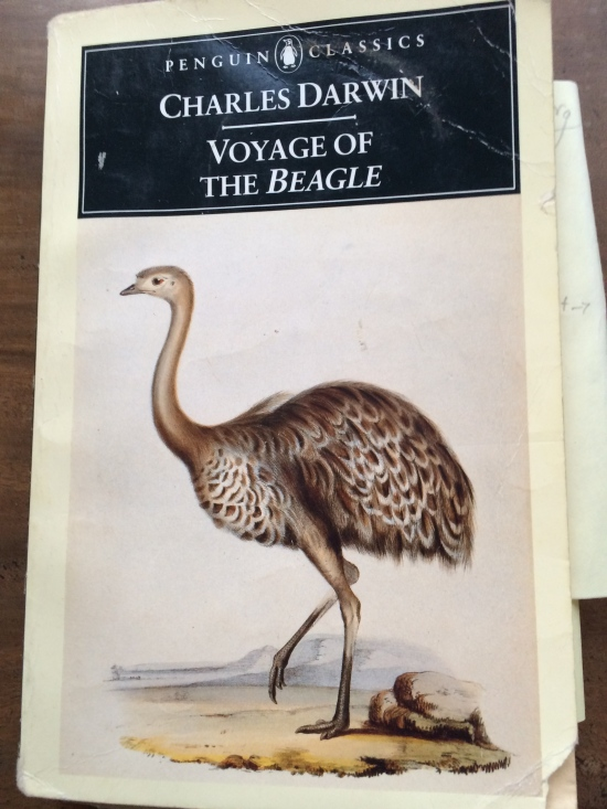 The Penguin Classics edition of the Voyage of the Beagle.