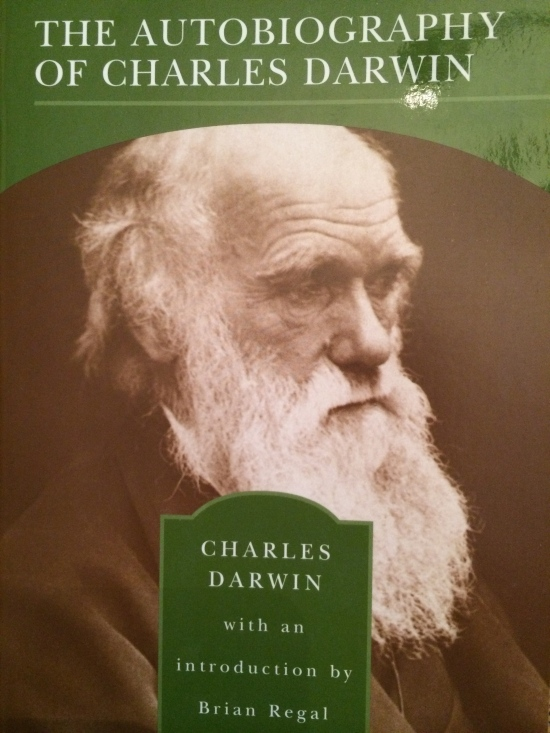 The Barnes & Noble edition of the Autobiography of Charles Darwin.