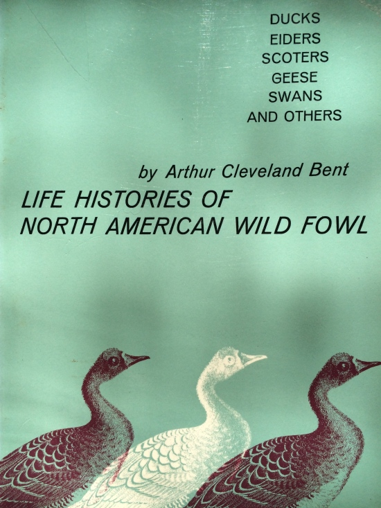 One of the sources I consulted for this piece. This is  part II, of one of the 20 volumes in the magisterial work on North American birds by Arthur Cleveland Bent.  Bent's account reports a lot of Audbon's beautiful writing on Canada geese.